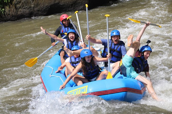 Bali Rafting With Transport and Buffet Lunch