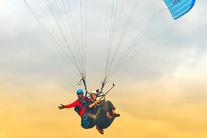 Bali Tandem Paragliding tour with Free Photos/ Videos - 10/15Minutes Flight