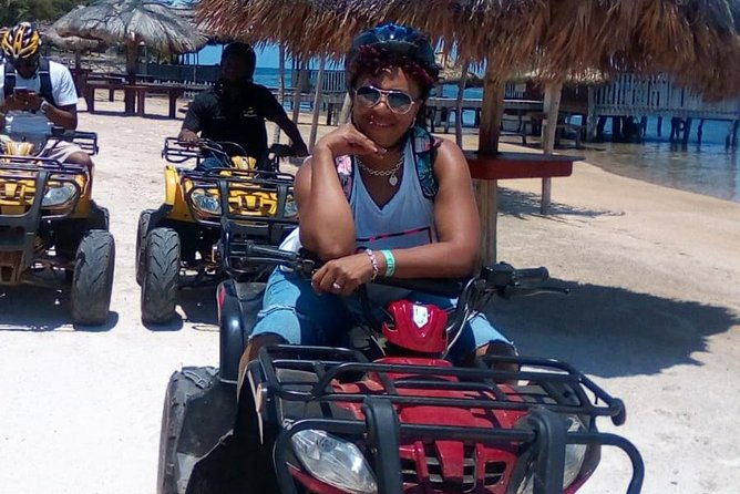 Shore Excursion: Tour Roatan on your own ATV Bikes