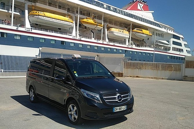 7-Hour Private Sightseeing Tour of ST TROPEZ from TOULON in Luxury Car