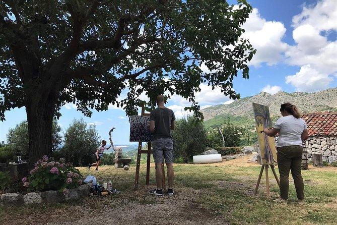 Painting Workshop in Konavle