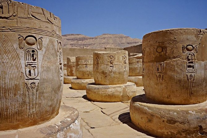 Private Habu Temple, Valley of the Artisans, Valley of the Queens from Luxor photo 2