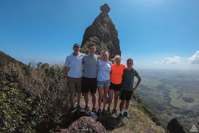 Hiking Pieter Both Mountain in Mauritius - The Shoulder Summit