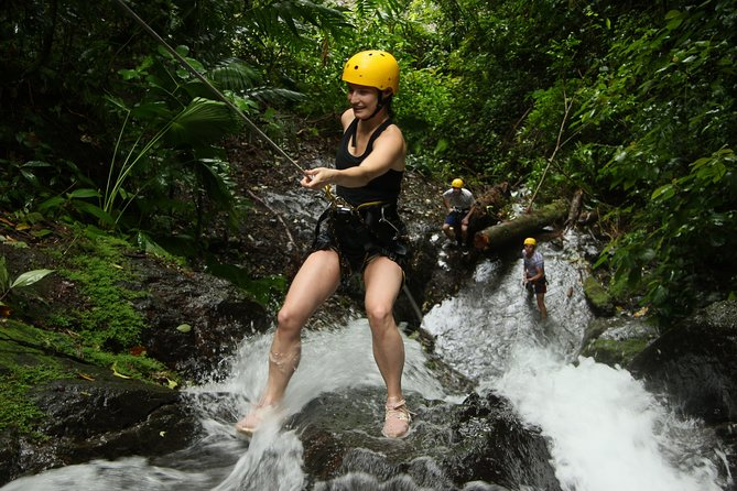 Rappelling down waterfalls with organic lunch and farm tour photo 7
