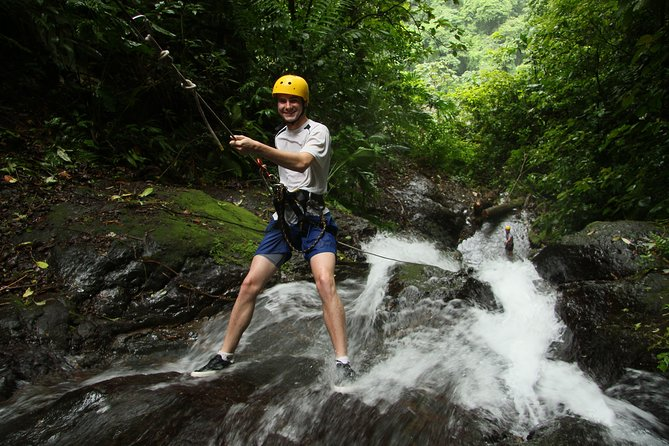 Rappelling down waterfalls with organic lunch and farm tour photo 13