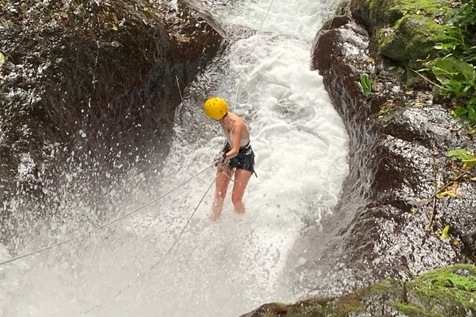 Rappelling down waterfalls with organic lunch and farm tour photo 18