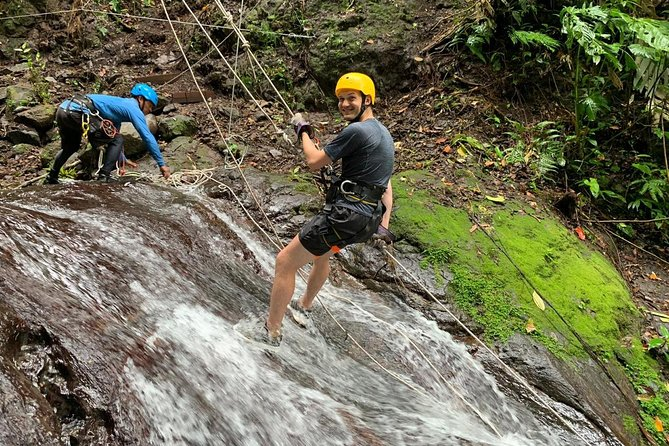 Rappelling down waterfalls with organic lunch and farm tour photo 9