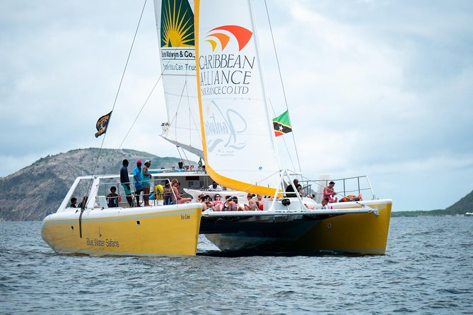 St Kitts Deluxe Catamaran Snorkeling Tour With Lunch
