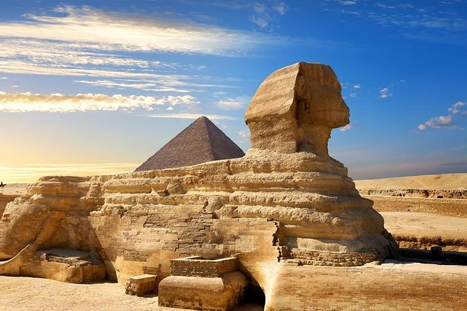 full day tour Pyramids of Giza and the Sphinx of Memphis and Saqqara photo 1