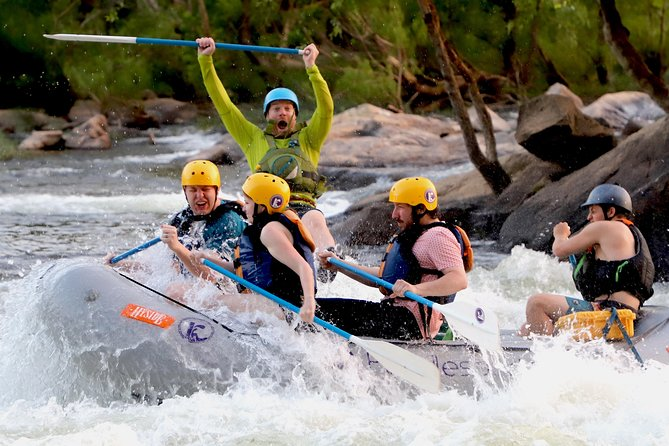 Ride the bus to Richmond, VA and brave the white-water rapids with rafting on the James River.