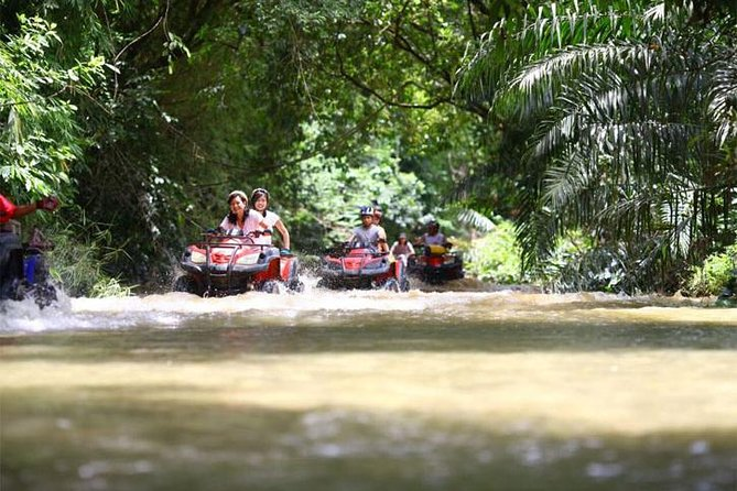 PHUKET: Rafting 5 km-Flying Fox -Buddha Cave-ATV 60M.-Waterfall-Lunch (STF) photo 18