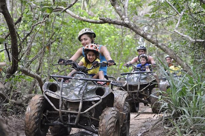 PHUKET: Rafting 5 km-Flying Fox -Buddha Cave-ATV 60M.-Waterfall-Lunch (STF) photo 20
