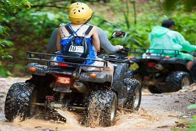 PHUKET: Rafting 5 km-Flying Fox -Buddha Cave-ATV 60M.-Waterfall-Lunch (STF) photo 2