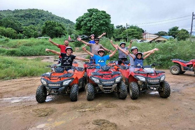 PHUKET: Rafting 5 km-Flying Fox -Buddha Cave-ATV 60M.-Waterfall-Lunch (STF) photo 11