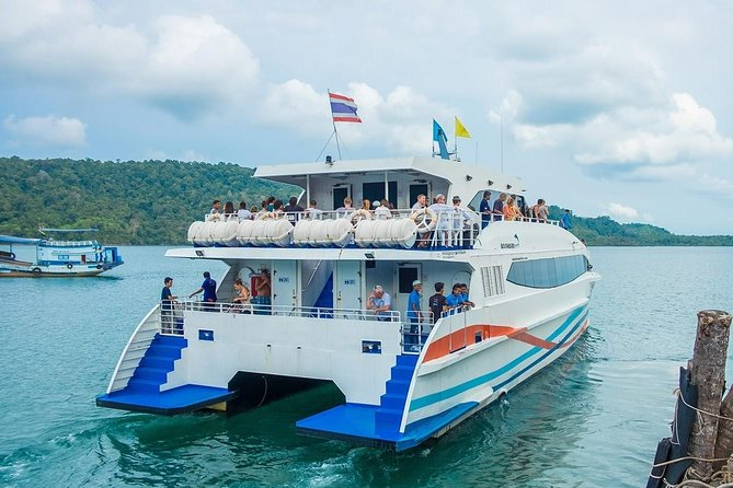 Koh Kood to Bangkok by Boonsiri High Speed Catamaran and Bus