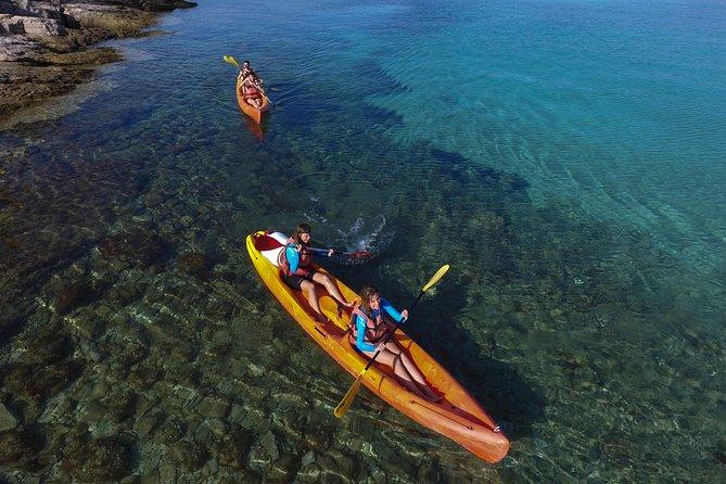 Sea kayaking route Postira - Lovrečina (St.Lovre, archaeological site)