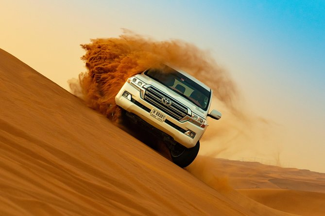 Dubai Fossil Rocks Desert Half-Day Safari with Camel Ride