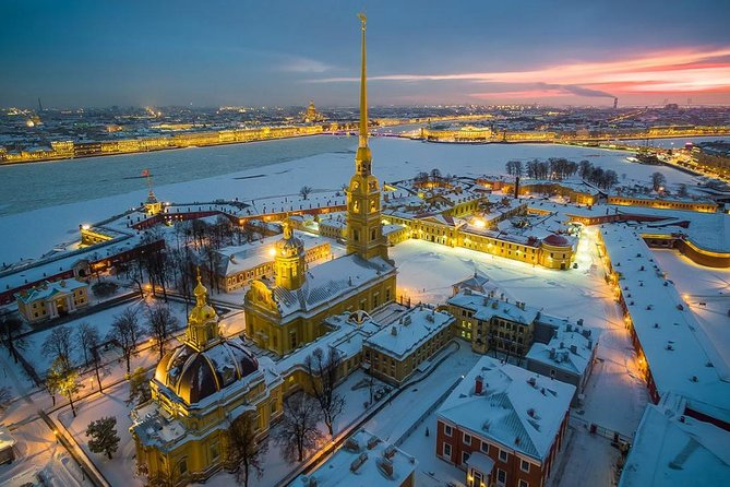 Two-day Tour of St Petersburg with Peterhof Palace & Boat Cruise
