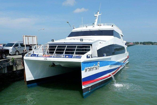 Koh Kood to Koh Mak by Boonsiri High Speed Catamaran