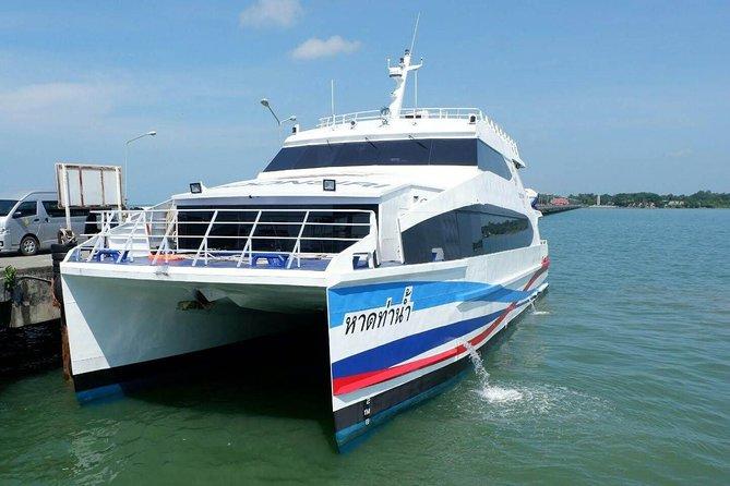 Koh Kood to Pattaya by Boonsiri High Speed Catamaran and Bus