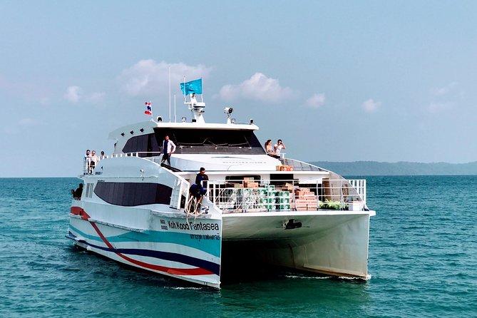Koh Mak to Bangkok by Boonsiri High Speed Catamaran and Bus