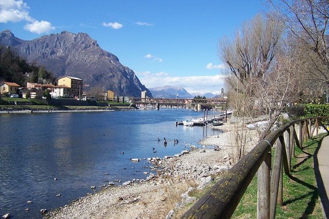 Typical local market in Lecco on Lake Como