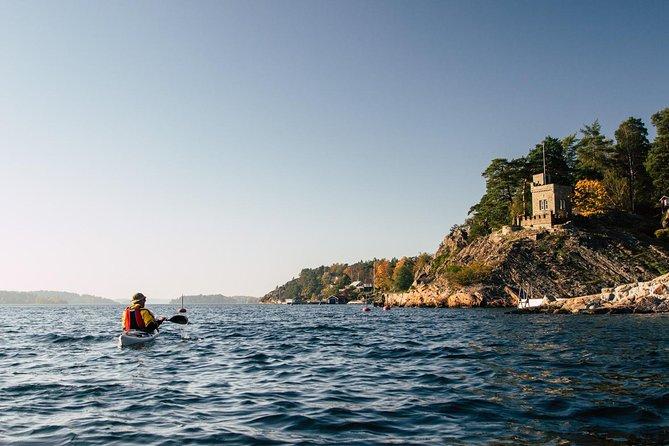 2-day kayaking adventure around Vaxholm in Stockholm Archipelago - self guided