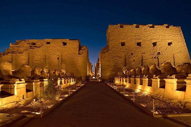 sound and light show at KARNAK TEMPLE photo 6