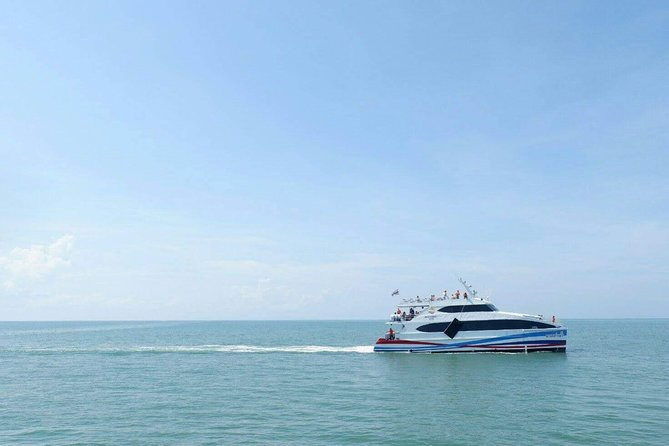 Pattaya to Koh Mak by Boonsiri Bus and High Speed Catamaran