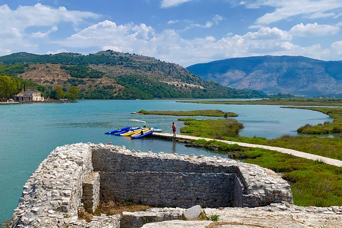 Kayaking Albania Tours from UNESCO Site of Butrint to Ali Pasha's Castle (ARG)