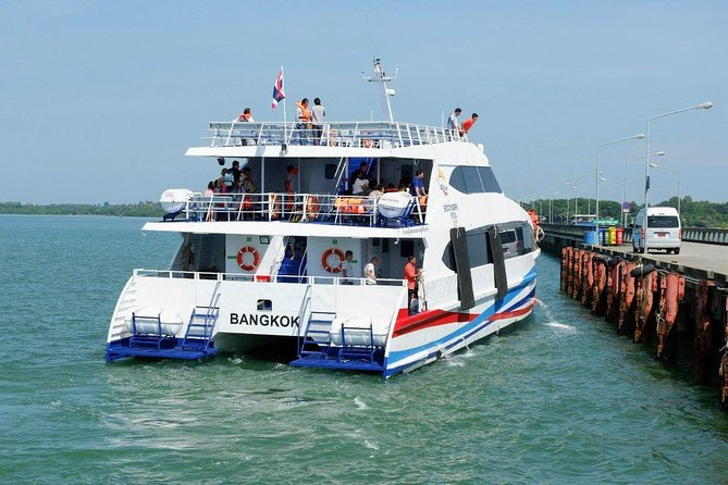 Trat to Koh Chang by Boonsiri High Speed Catamaran