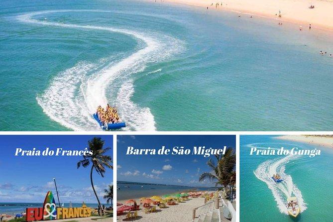 Praia Do Francês + Barra De São Miguel + Gunga