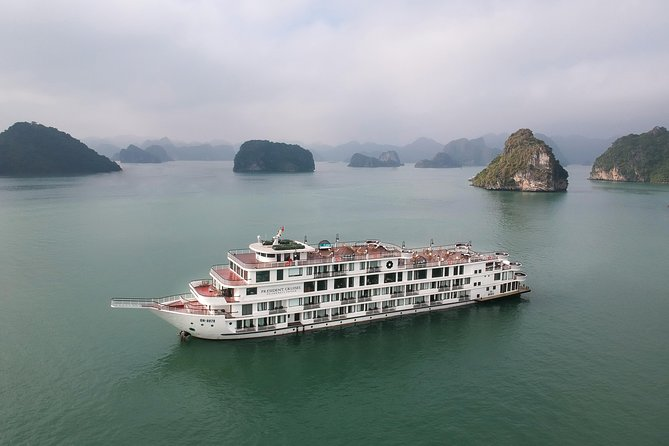 PRESIDENT CRUISES: LUXURY 2 DAYS 1 NIGHT IN HALONG BAY