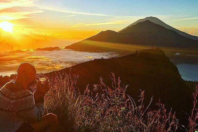 BALI TREKKING SUNRICE in TOP MOUNT BATUR