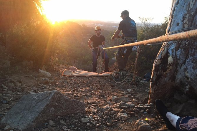 Twilight Abseiling in Boya Including Gourmet Pizza and Views