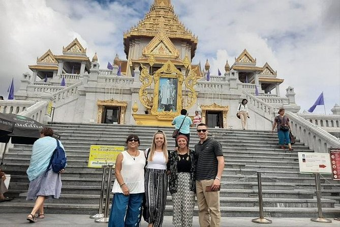 Private Bangkok City Sightseeing Tour With Grand Palace