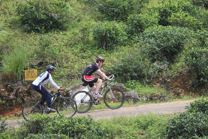 Cycling in Nuwera Eliya