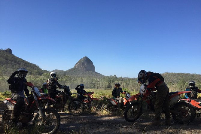 1/2 Day Guided Glasshouse Mountains Trail Bike Tour photo 1