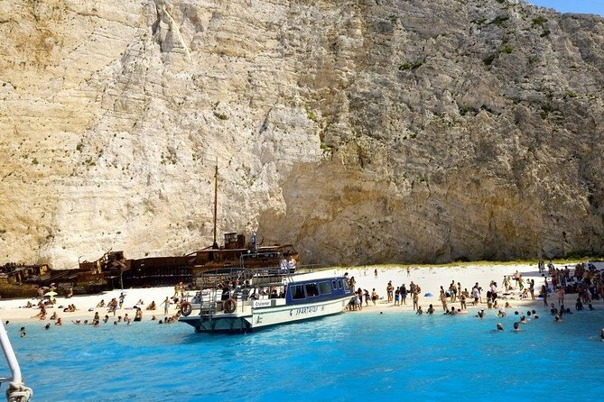 Trip to Shipwreck, Blue Caves and Xigia Beach