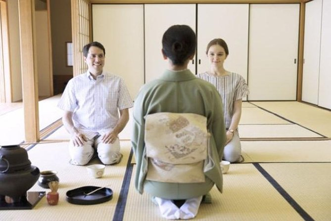 PRIVATE Japanese tea ceremony Kyoto MAIKOYA (casual clothes)
