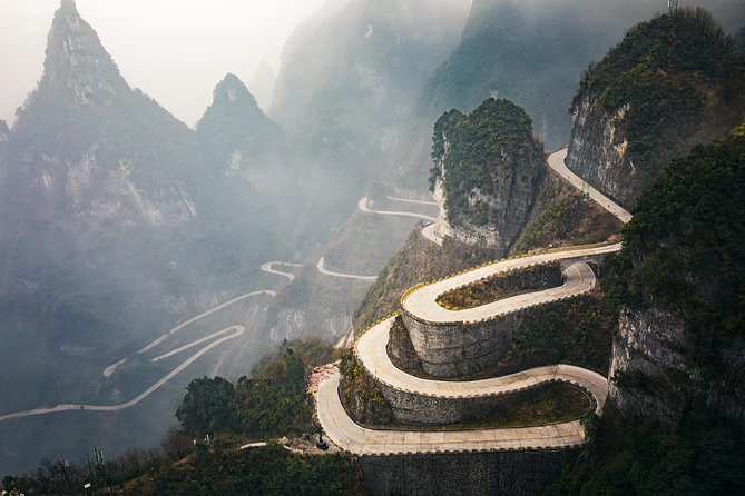 Zhangjiajie Tianmen Mountain Private All-inclusive Day Tour