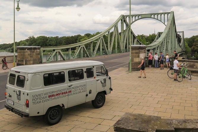 Potsdam City Tour in Soviet Vintage Van (Small Group)