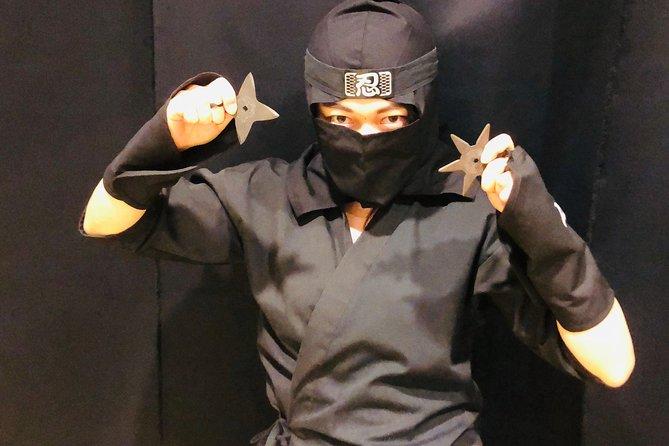 Ninja-oplevelse i Kyoto for voksne SPECIAL Autentisk Ninja-træningslektion