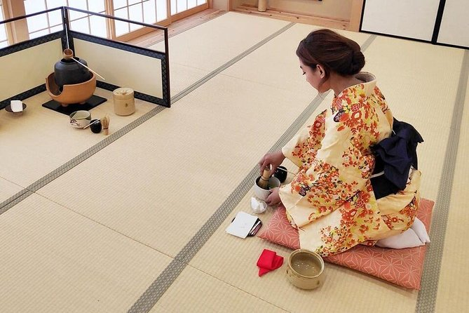 Private Tea Ceremony with Kimono at a Traditional house by Maikoya Kyoto