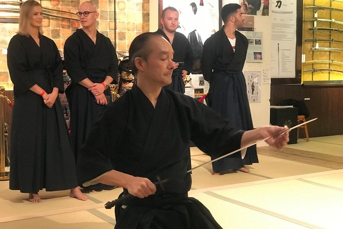 Kyoto Samurai Sword Fighting Experience