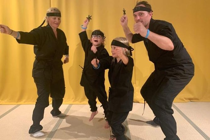 Ninja Experience in Kyoto for Kids and Families