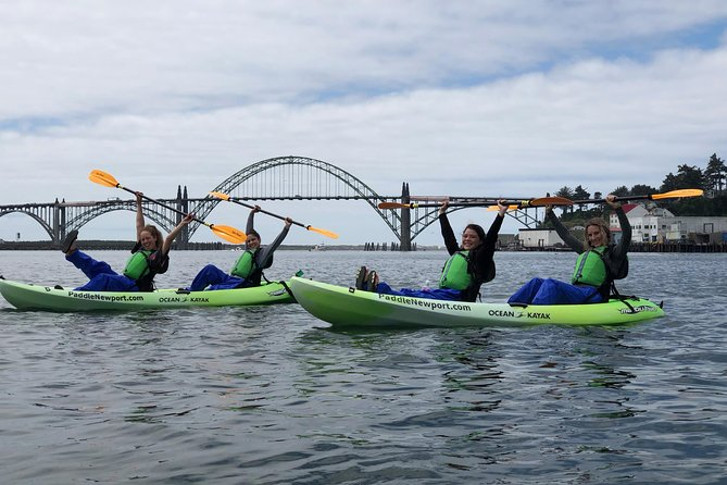 Guided Kayak Tour of Yaquina Bay - 3:00pm photo 3