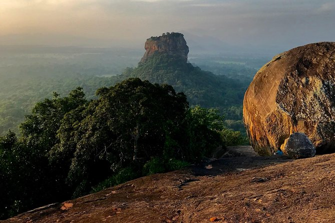 Pidurangala Rock and Dambulla Cave, All Inclusive Day Tour From Kandy.