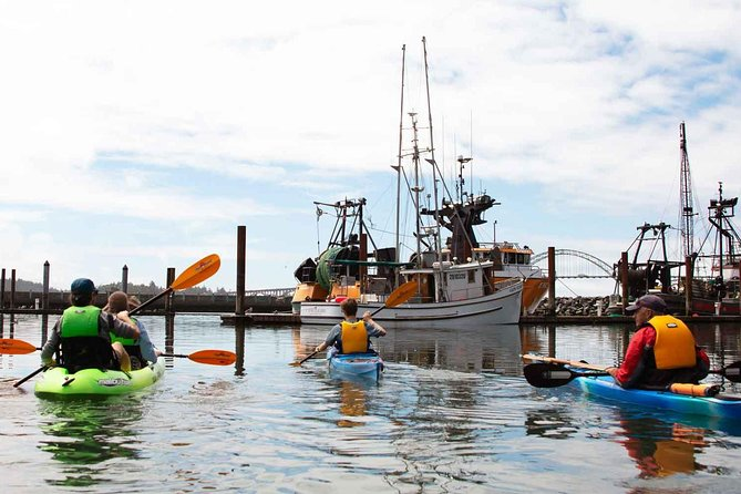 Guided Kayak Tour of Yaquina Bay - 3:00pm photo 6