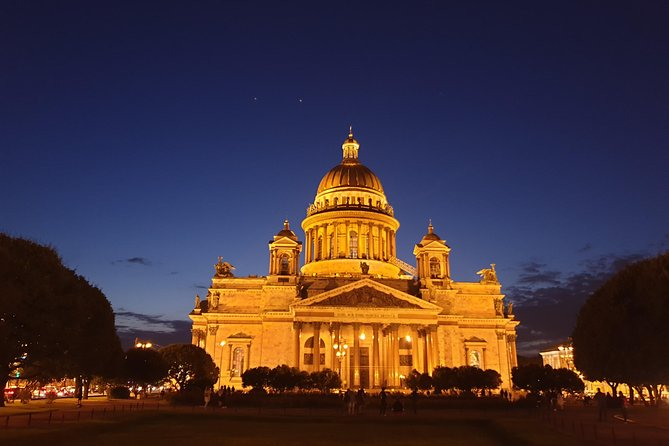 St Petersburg at Night Sightseeing Tour